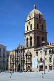 Εκκλησία του Σαν Φρανσίσκο στο Λα Παζ, Βολιβία Στοκ Εικόνα