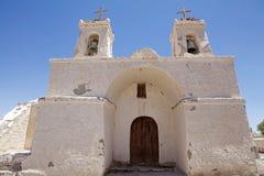 Εκκλησία του Σαν Φρανσίσκο, Chiu Chiu, Χιλή Στοκ Εικόνες