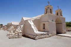 Εκκλησία του Σαν Φρανσίσκο, Chiu Chiu, Χιλή Στοκ Φωτογραφία
