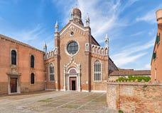 Εκκλησία του dell'Orto Madonna στη Βενετία Στοκ εικόνα με δικαίωμα ελεύθερης χρήσης