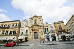 Εκκλησία του della Grazia της Σάντα Μαρία σε Lecce, Πούλια, Ιταλία Στοκ Εικόνες