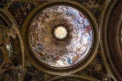 Εκκλησία του Ignazio Sant, Ρώμη, Ιταλία Στοκ εικόνα με δικαίωμα ελεύθερης χρήσης