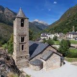 Εκκλησία του Joan Sant σε Boi στοκ φωτογραφίες