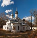 Εκκλησία του Michael αρχαγγέλων στο κτήμα Archangelskoye μουσείων κοντά στη Μόσχα Στοκ Εικόνες