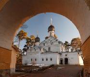 Εκκλησία του Michael αρχαγγέλων στο κτήμα Archangelskoye μουσείων κοντά στη Μόσχα Στοκ Φωτογραφίες