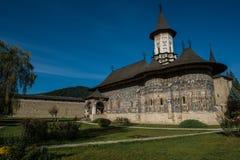Εκκλησία του monatery Sucevita Στοκ Φωτογραφίες