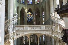 Εκκλησία του Saint-$l*Etienne du mont, Παρίσι, Γαλλία στοκ φωτογραφία με δικαίωμα ελεύθερης χρήσης