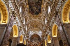 Εκκλησία του Saint-Louis, Ρώμη στοκ φωτογραφία