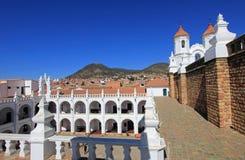 Εκκλησία του SAN Felipe Neri, sucre, Βολιβία Στοκ φωτογραφία με δικαίωμα ελεύθερης χρήσης