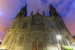 Εκκλησία του San Juan Bautista Arucas Στοκ εικόνα με δικαίωμα ελεύθερης χρήσης