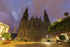 Εκκλησία του San Juan Bautista Arucas Στοκ φωτογραφία με δικαίωμα ελεύθερης χρήσης