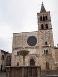 Εκκλησία του SAN Michele Arcangelo σε Bevagna Στοκ Φωτογραφία