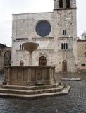 Εκκλησία του SAN Michele Arcangelo σε Bevagna Στοκ φωτογραφίες με δικαίωμα ελεύθερης χρήσης