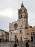 Εκκλησία του SAN Michele Arcangelo σε Bevagna Στοκ εικόνες με δικαίωμα ελεύθερης χρήσης