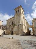 Εκκλησία του SAN Pedro και του SAN Ildefonso, Zamora Ισπανία Στοκ φωτογραφία με δικαίωμα ελεύθερης χρήσης
