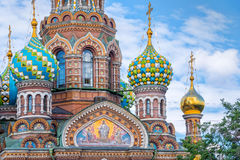 Εκκλησία του Savior στο αίμα, Αγία Πετρούπολη Ρωσία Στοκ φωτογραφία με δικαίωμα ελεύθερης χρήσης