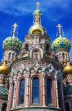 Εκκλησία του Savior στο αίμα σε Άγιο Πετρούπολη Στοκ φωτογραφία με δικαίωμα ελεύθερης χρήσης