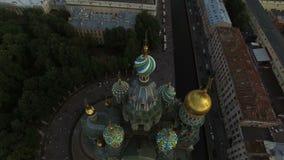 Εκκλησία του Savior στο αίμα στην κεραία Άγιος-Πετρούπολη φιλμ μικρού μήκους