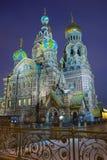 Εκκλησία του Savior στο αίμα Χριστού Στοκ φωτογραφία με δικαίωμα ελεύθερης χρήσης