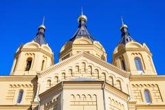 Εκκλησία του ST Αλέξανδρος Nevskiy Στοκ Εικόνες