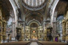 Εκκλησία του ST Μαρία στο Los Arcos, Ναβάρρα Ισπανία Στοκ φωτογραφία με δικαίωμα ελεύθερης χρήσης