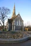 Εκκλησία του ST Alban στην Κοπεγχάγη, Δανία Στοκ εικόνα με δικαίωμα ελεύθερης χρήσης