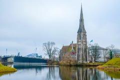 Εκκλησία του ST Alban Στοκ Φωτογραφίες