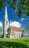 Εκκλησία του ST Albans, Copehangen Στοκ Φωτογραφίες