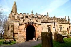 Εκκλησία του ST Anne, Baslow, Derbyshire Στοκ εικόνα με δικαίωμα ελεύθερης χρήσης