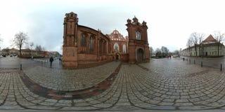 Εκκλησία του ST Anne ` s και εκκλησία του ST Francis και του ST Bernard Στοκ εικόνες με δικαίωμα ελεύθερης χρήσης