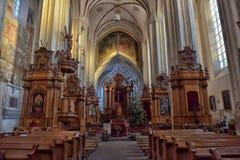 Εκκλησία του ST Anne ` s και εκκλησία του ST Francis και του ST Bernard Στοκ φωτογραφία με δικαίωμα ελεύθερης χρήσης
