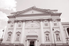 Εκκλησία του ST Annes  Βαρσοβία  Πολωνία Στοκ Φωτογραφίες