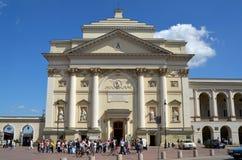 Εκκλησία του ST Annes στη Βαρσοβία, Πολωνία Στοκ φωτογραφία με δικαίωμα ελεύθερης χρήσης