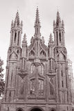 Εκκλησία του ST Annes, Vilnius, Λιθουανία Στοκ εικόνα με δικαίωμα ελεύθερης χρήσης
