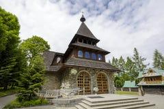 Εκκλησία του ST Anthony της Πάδοβας σε Zakopane Στοκ φωτογραφίες με δικαίωμα ελεύθερης χρήσης