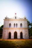 Εκκλησία του ST Anthony, Anjuna, Goa, Ινδία Στοκ Εικόνα