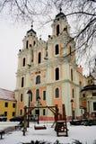 Εκκλησία του ST Catherine στο χειμώνα Στοκ Εικόνες