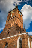 Εκκλησία του ST Catherine (Kosciol sw Katarzyny), το παλαιότερο churc Στοκ εικόνες με δικαίωμα ελεύθερης χρήσης