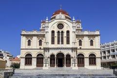 Εκκλησία του ST Catherine Sinai - Ορθόδοξη Εκκλησία σε Ηράκλειο, Κρήτη, Στοκ εικόνες με δικαίωμα ελεύθερης χρήσης