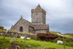 Εκκλησία του ST Clements, Rodel στοκ εικόνες
