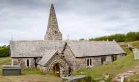 Εκκλησία του ST Enodoc Στοκ Φωτογραφίες