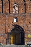 Εκκλησία του ST George (Kirche Friedland). Πόλη Pravdinsk (μέχρι το 1946 Friedland), Kaliningrad oblast, Ρωσία Στοκ εικόνες με δικαίωμα ελεύθερης χρήσης