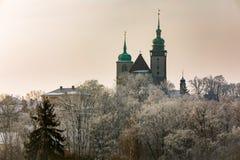 Εκκλησία του ST James ο μεγαλύτερος σε Jihlava, Δημοκρατία της Τσεχίας Στοκ Φωτογραφία