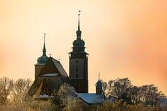 Εκκλησία του ST James ο μεγαλύτερος σε Jihlava, Δημοκρατία της Τσεχίας Στοκ Εικόνες