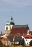 Εκκλησία του ST James ο μεγαλύτερος σε Jihlava, τσεχικά Στοκ Φωτογραφία
