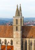 Εκκλησία του ST James Rothenburg ob der Tauber Στοκ φωτογραφίες με δικαίωμα ελεύθερης χρήσης