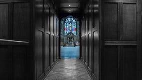 Εκκλησία του ST John η βαπτιστική άποψη πηγών από το παρεκκλησι Στοκ φωτογραφίες με δικαίωμα ελεύθερης χρήσης