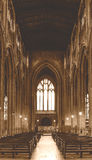 Εκκλησία του ST John η βαπτιστική άποψη σηκών από το βωμό Α Στοκ Εικόνα