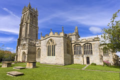 Εκκλησία του ST John σε Glastonbury, Somerset, Αγγλία, Ηνωμένο Βασίλειο (UK) Στοκ Εικόνες