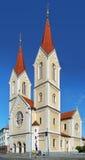 Εκκλησία του ST John Nepomuk σε Plzen Στοκ φωτογραφία με δικαίωμα ελεύθερης χρήσης